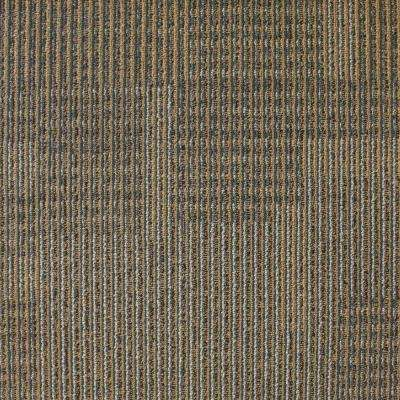 Park Avenue Acorn Loop 19.7 in. x 19.7 in. Carpet Tile (20 Piece/Case)