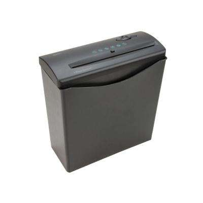 JS55 5-Sheet Strip Cut Home/Office Shredder with Basket