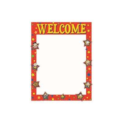 17 in. x 22 in. Peanuts Welcome Poster