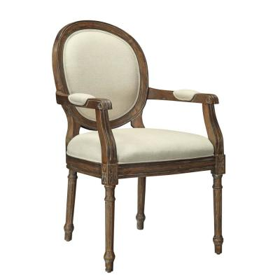 Freeman Mid Brown Accent Chair