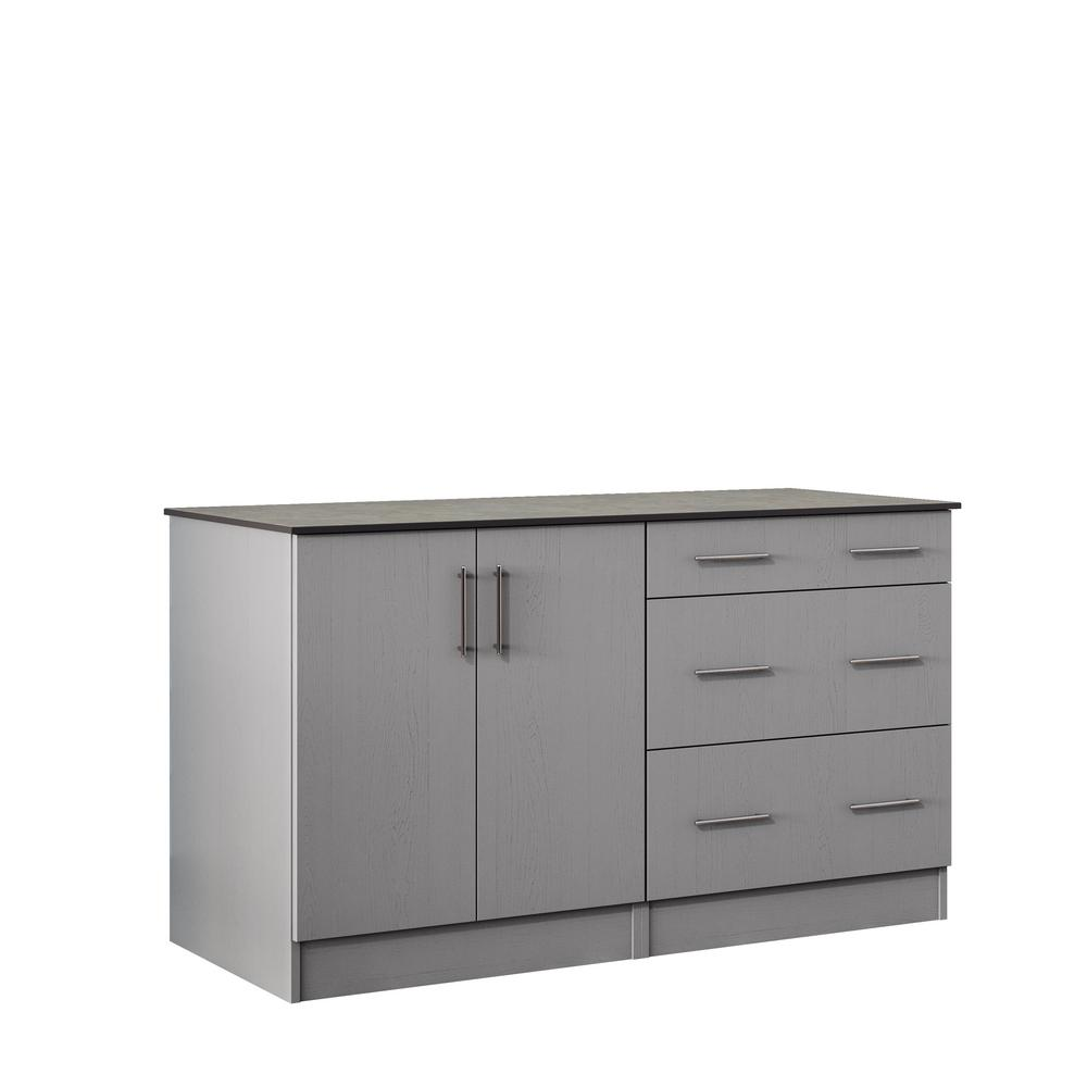 WeatherStrong Miami 59.5 In. Outdoor Cabinets With