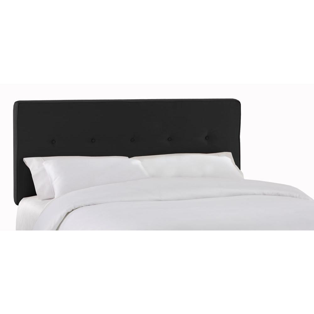 SoHo Black King Headboard