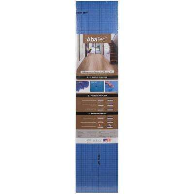 Abatec 3.9 ft. x 25.7 ft. x 1mm Premium Underlayment for Rigid Click Luxury Vinyl Flooring (100 sq. ft.)