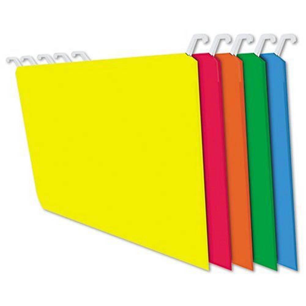 Letter Hanging Folders 20 pk in Assort