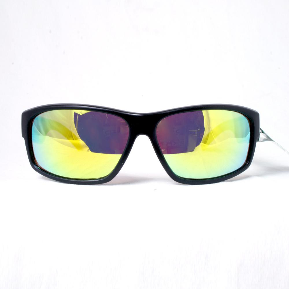 Unisex 2 Tone Colored Contrasting Full Frame with Colored Mirrored Polycarbonate