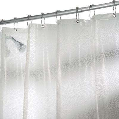 Rain Shower Curtain in Clear
