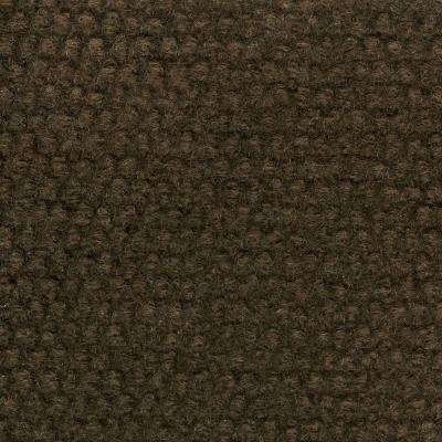 Caserta Walnut Hobnail Texture 18 in. x 18 in. Indoor/Outdoor Carpet Tile (10 Tiles/Case)