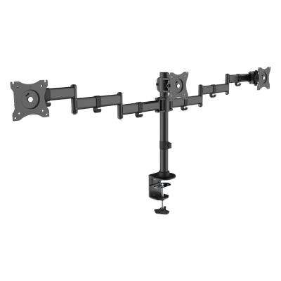 Economy Steel LCD VESA Desk Mount For 3 Monitors
