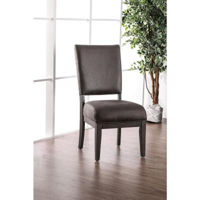 Winder Gray Upholstered Side Chairs (Set of 2)