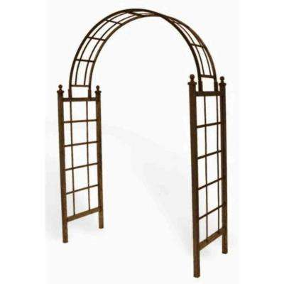 Latice 85 in. H x 60 in. W x 23 in. D Arch with Spikes