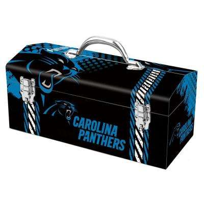7.2 in. Carolina Panthers NFL Tool Box