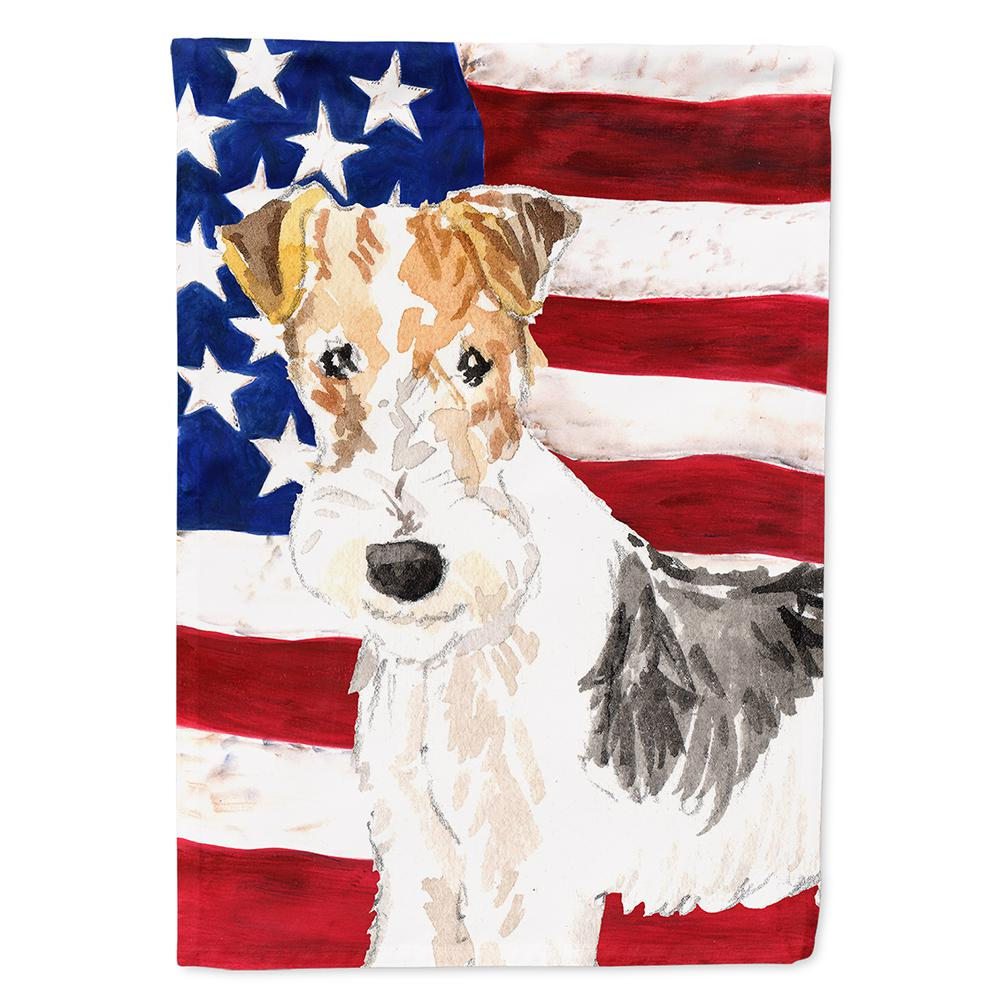 Carolineu0027s Treasures 0.91 Ft. X 1.29 Ft. Polyester Patriotic USA Yorkie  Yorkshire Terrier 2
