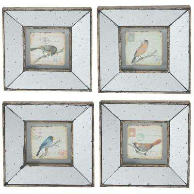 Simeon 12 in. x 12 in. Decorative Square Frames (4-Pack)