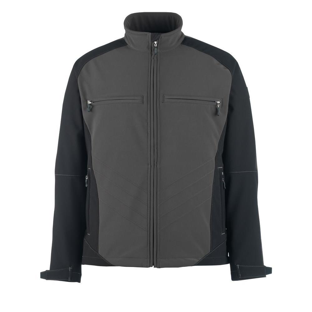 MASCOT Men's XXX-Large Two Tone Dark Grey/Black 100% Polyester Dresden Softshell Jacket