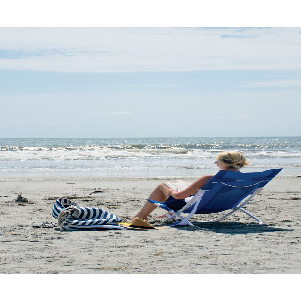 Blue Breeze Hammock Aluminum Lawn Chair