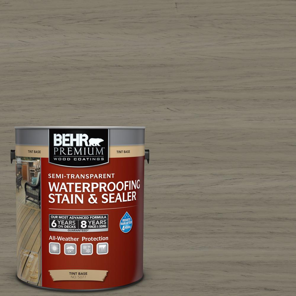 1 gal. #ST-154 Chatham Fog Semi-Transparent Waterproofing Exterior Wood Stain