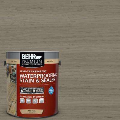 1 gal. #ST-154 Chatham Fog Semi-Transparent Waterproofing Exterior Wood Stain and Sealer