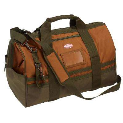 20 in. Gatemouth Tool Bag in Brown