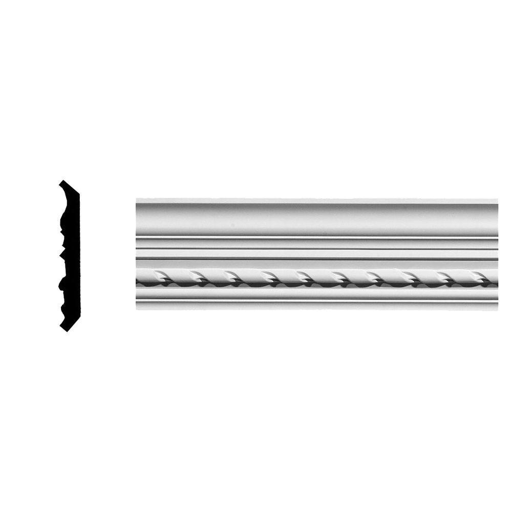 3-7/8 in. x 3-3/4 in. x 94-5/8 in. Polyurethane Windsor Rope