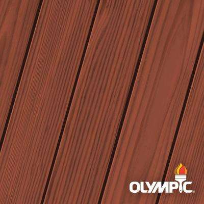 Elite 1 Gal. Cumaru Semi-Solid Exterior Wood Stain and Sealant in One