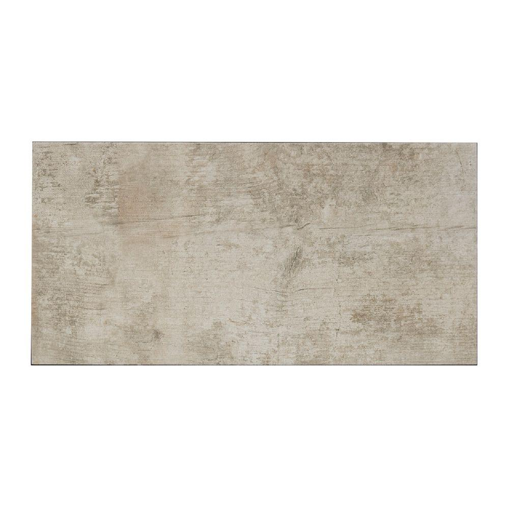 Tune Beige 12 in. x 24 in. Porcelain Floor and Wall