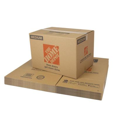 Medium Moving Box 10-Pack (22 in. L x 16 in. W x 15 in. D)