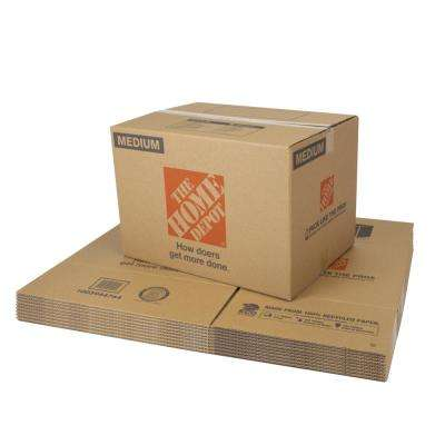22 in. L x 16 in. W x 15 in. D Medium Moving Box 10-Pack