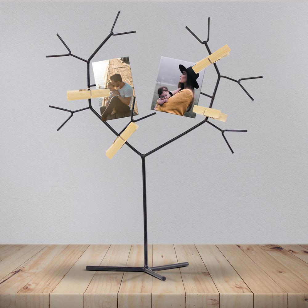 Crystal Art Gallery Metal Tree Clips Photo Holder 81151web