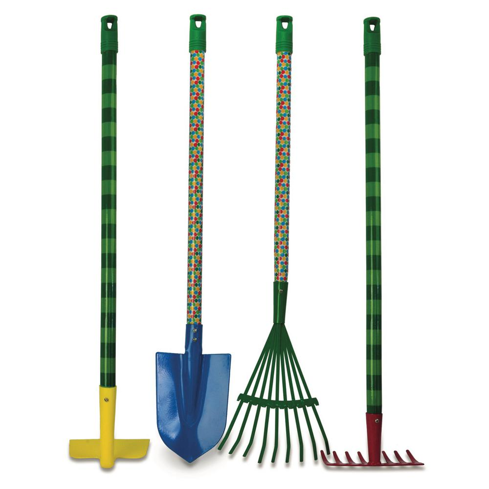The Very Hungry Caterpillar 30 in. Kids 4-Piece Garden Tool Set