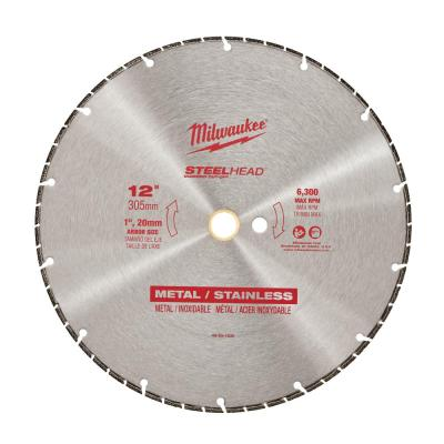 12 in. Steelhead Diamond Cut Off Blade