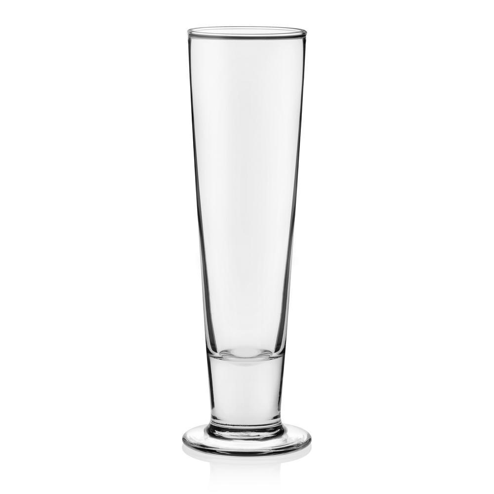 Libbey Stockholm 4 Piece Pilsner Beer Glass Set 3823 The
