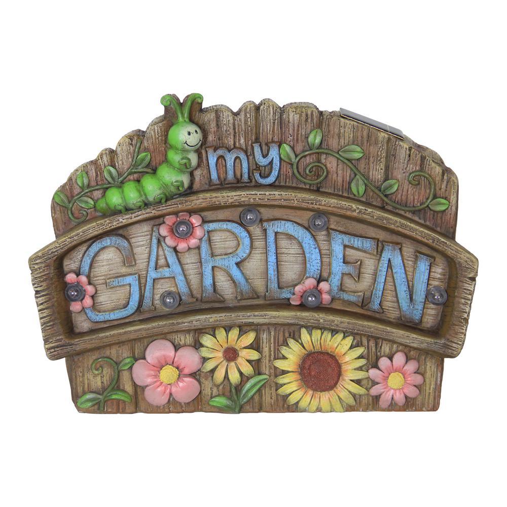 Solar My Garden Marquee Statue