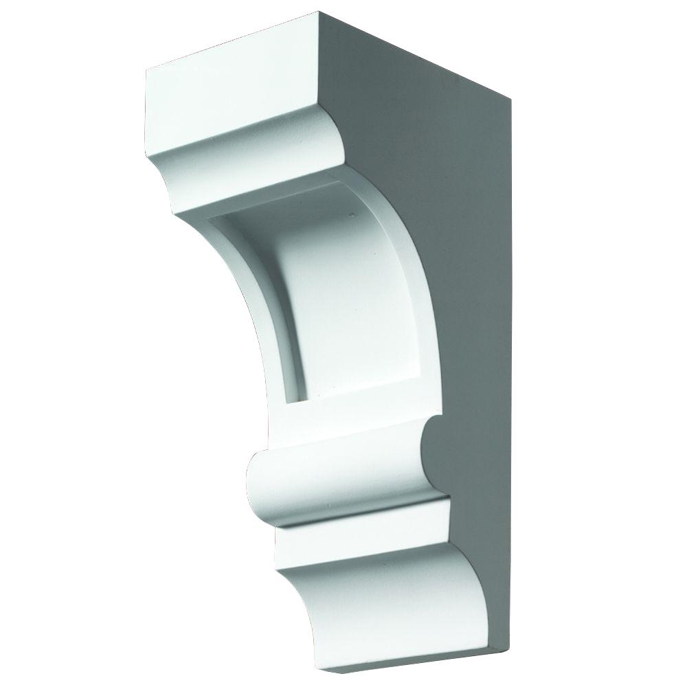 Fypon 4 in. x 5-1/4 in. x 10 in. Polyurethane Corbel
