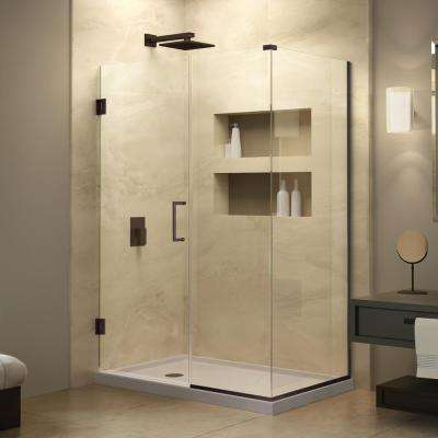 50 and above - Semi-Frameless - Pivot/Hinged - Corner Shower Doors ...