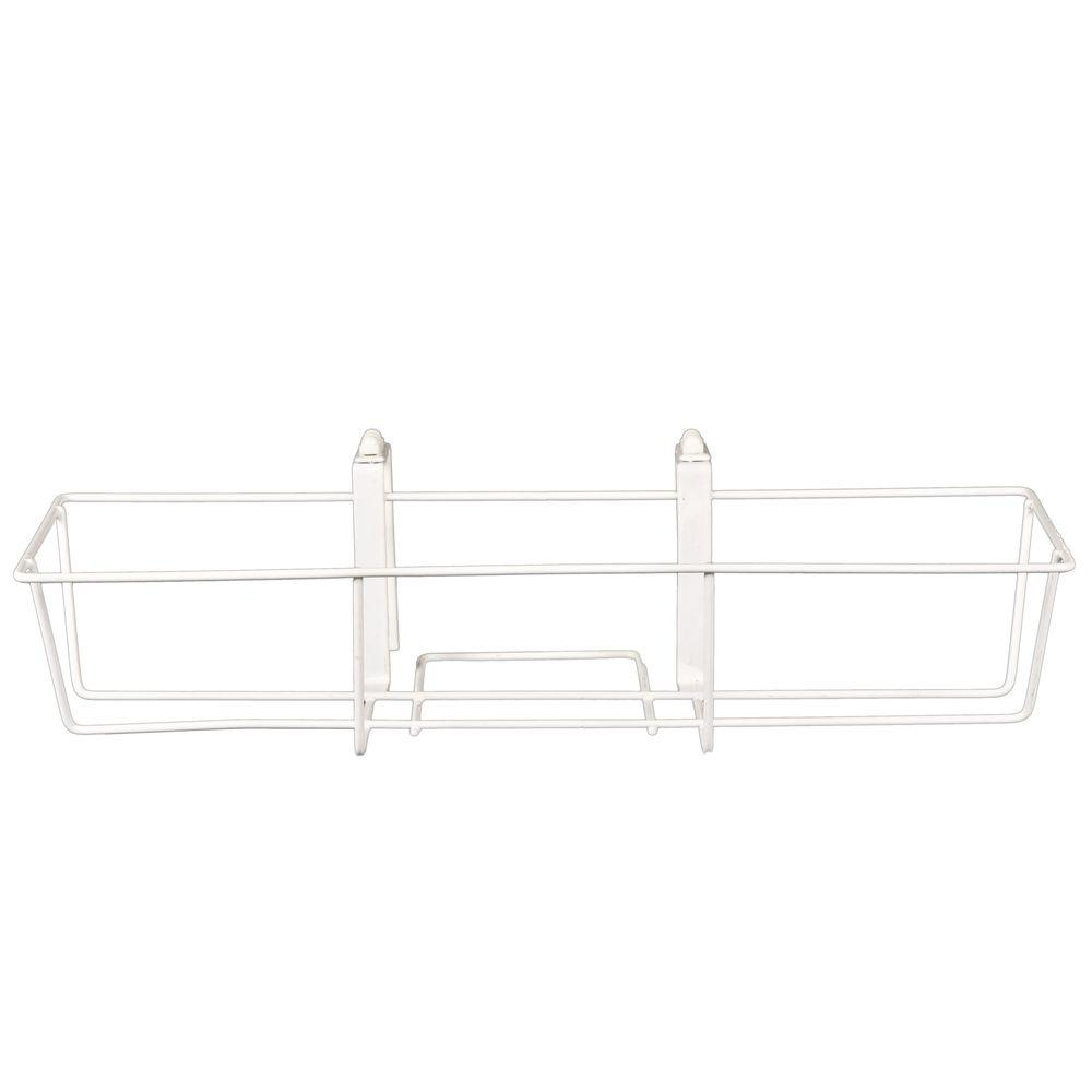 CobraCo 24 in. Adjustable Flower White Box Holder
