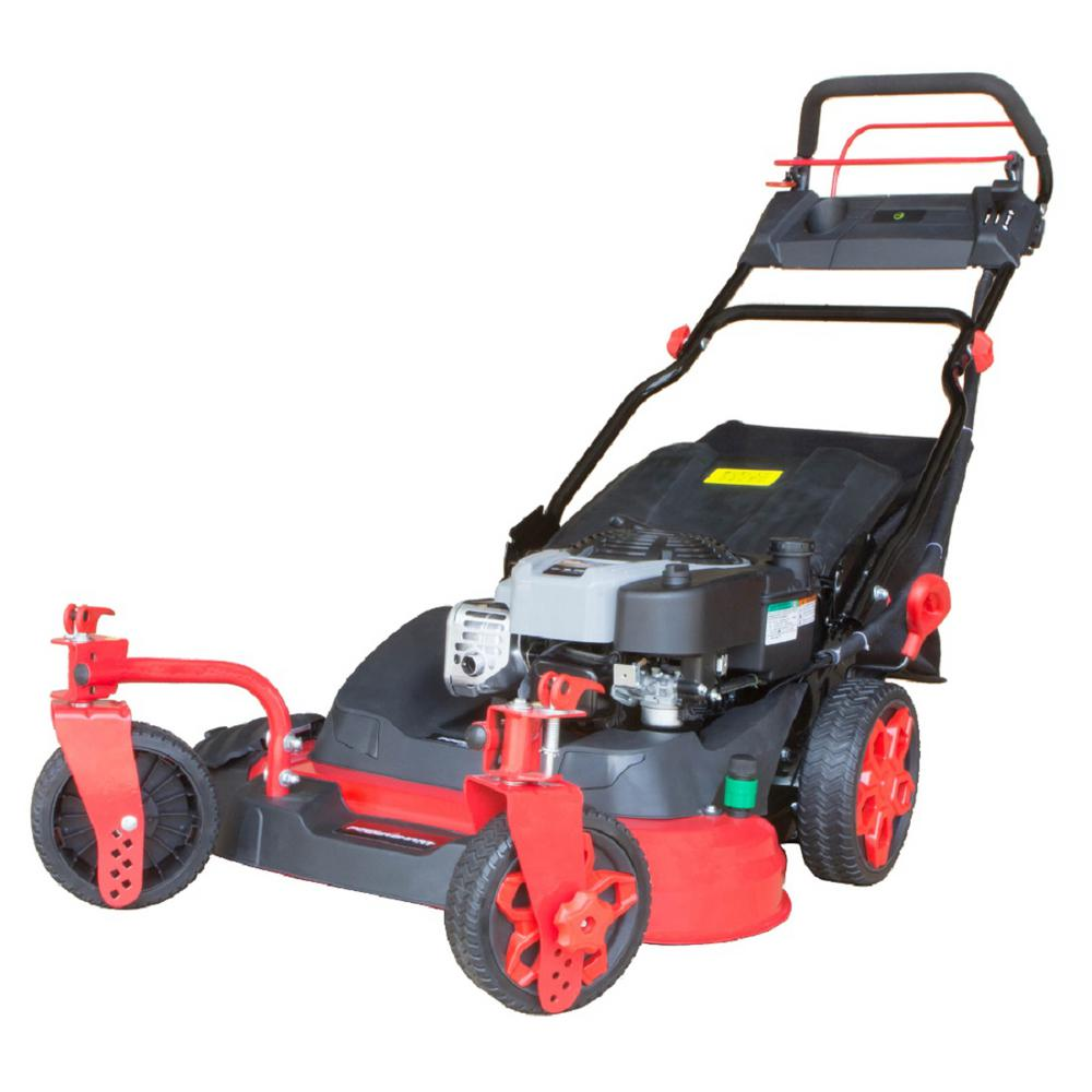 26 in. 3-in-1 190cc Briggs and Stratton Gas Self Propelled Walk
