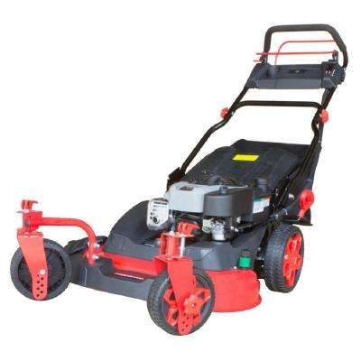 26 in. 3-in-1 190cc Briggs and Stratton Gas Self Propelled Walk Behind Lawn Mower