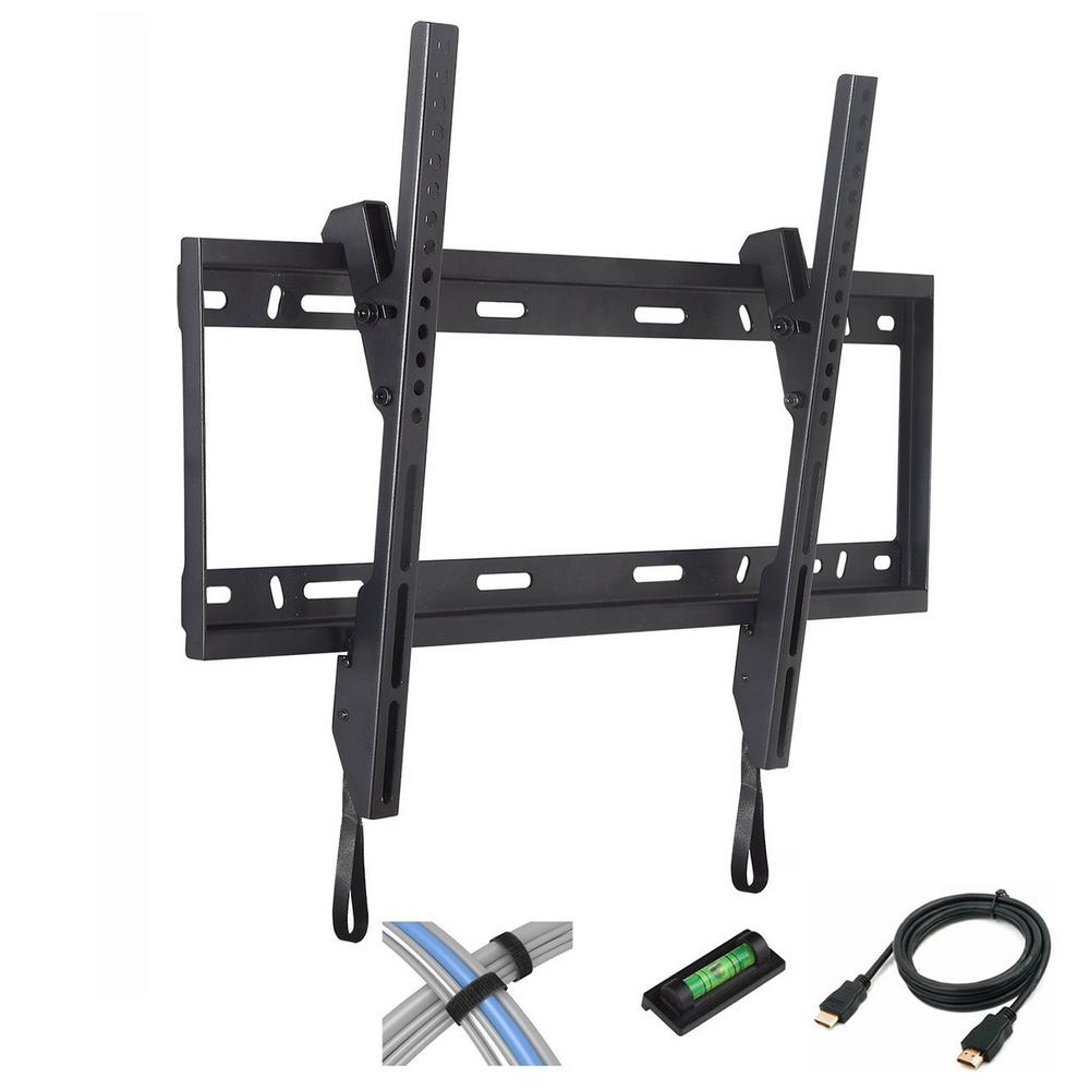 TV Wall Mount Tilting for 37 in. - 84 in., Black