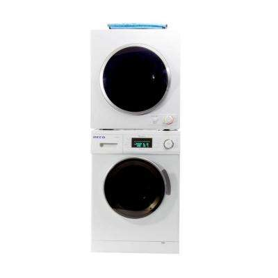 Washer and Compact Standard Dryer Set
