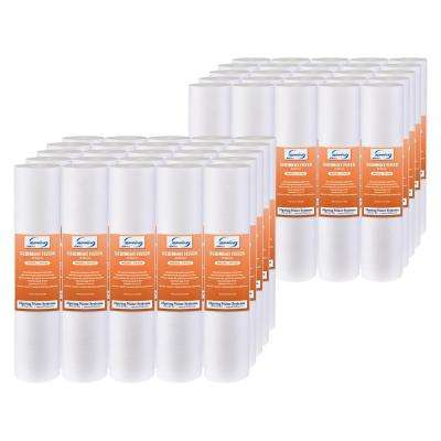 20 micron 10 in. x 2.5 in. Universal Sediment Filter Cartridges Multi-layer 15000 Gal. (Pack of 50)