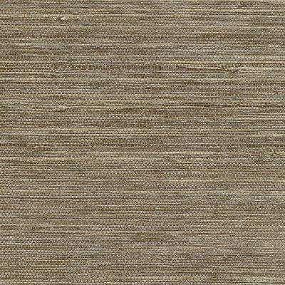 72 sq. ft. Liaohe Bronze Grass Cloth Wallpaper