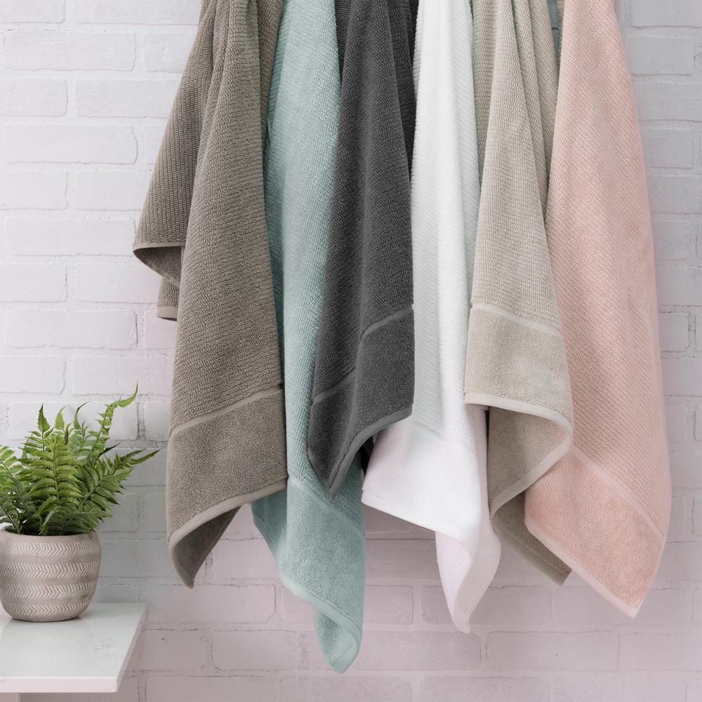 The Anderson 6 Piece Soft Rose Bath Towel Set