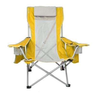 Haleakala Sunrise Yellow Beach Sling Chair