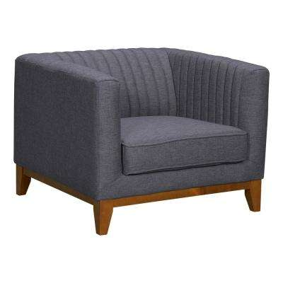 Prism Dark Grey Fabric Sofa Chair