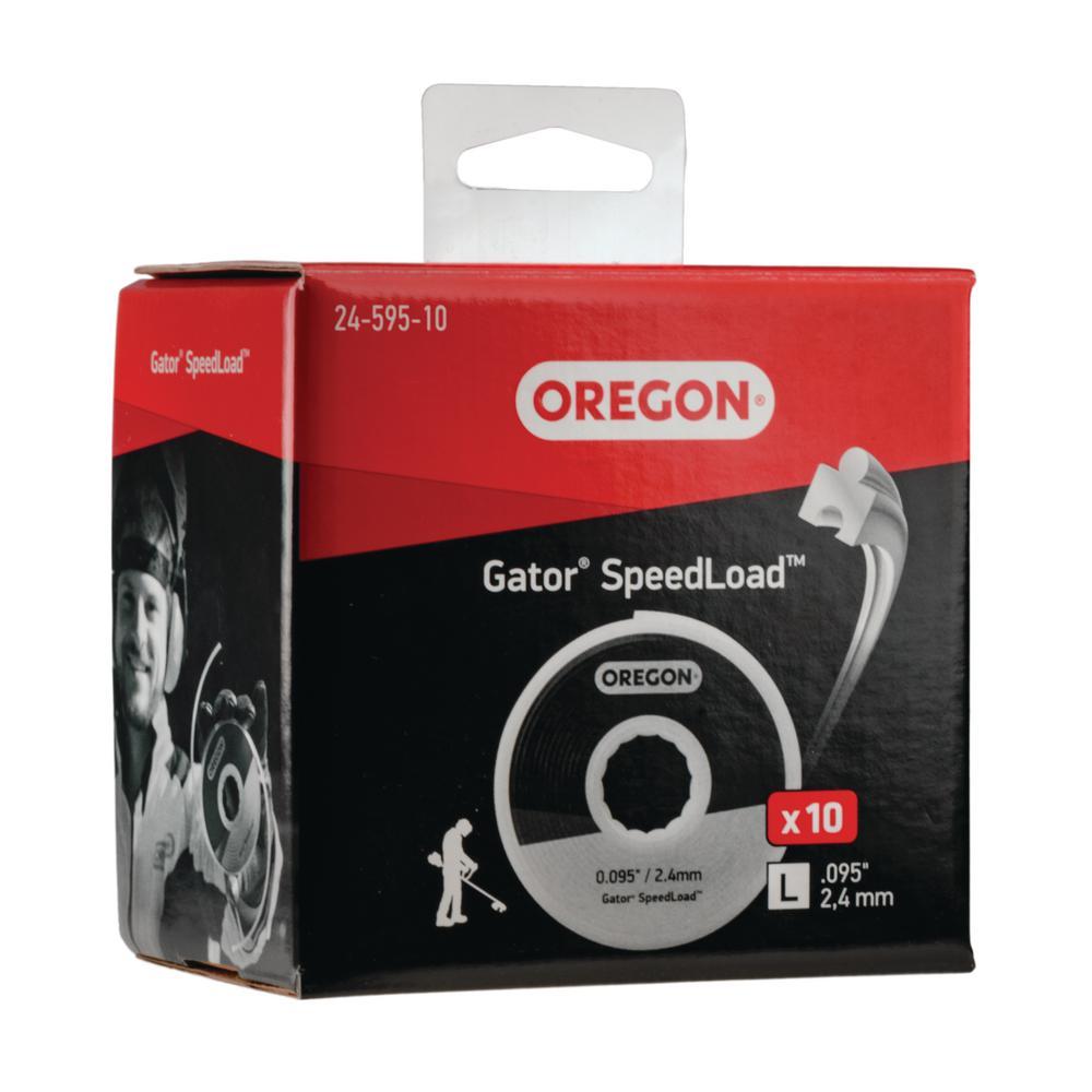 0.095 in. Gator SpeedLoad LG Trimmer Line (10-Pack)