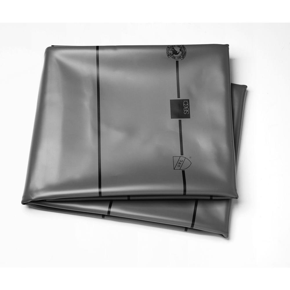 6 ft. x 50 ft. Gray PVC Shower Pan Liner Roll