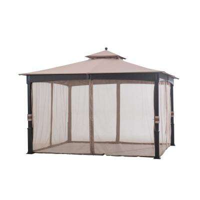 Replacement Netting for Wicker 10 ft. x 10 ft. Gazebo