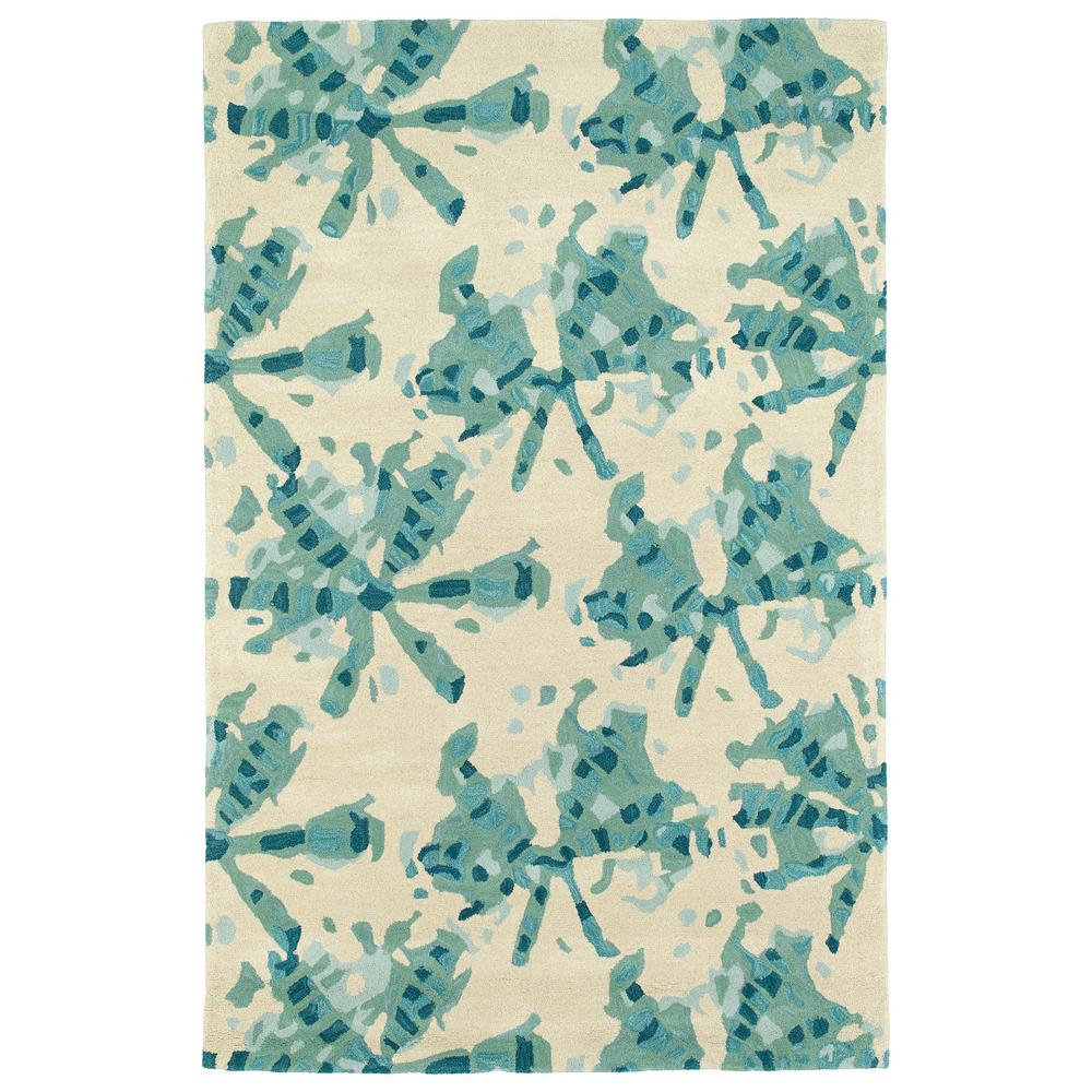 Kaleen Helena Turquoise Area Rug Reviews: Kaleen Synthesis Turquoise 3 Ft. X 5 Ft. Area Rug