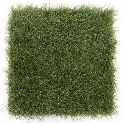 1 ft. x 1 ft. Quick Deck Outdoor Plastic Deck Tile Sample in Zoysia Grass (10-Case)