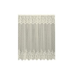 Heritage Lace Sand Shell In Ecru Shower Curtain 7175E OCST